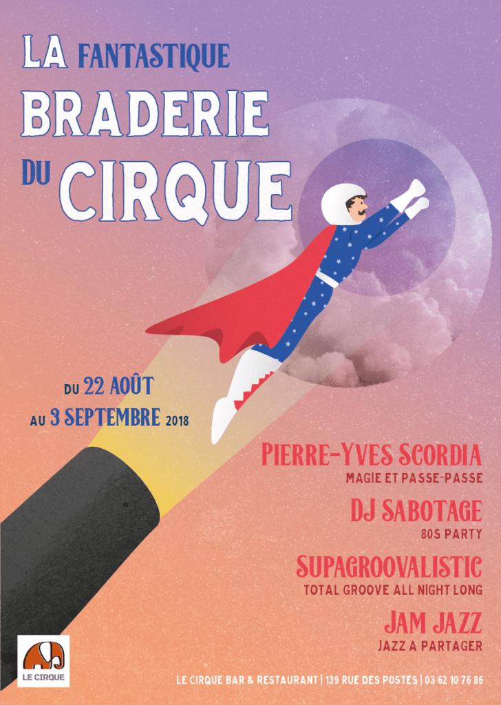 Braderie du Cirque - Affiche non retenue